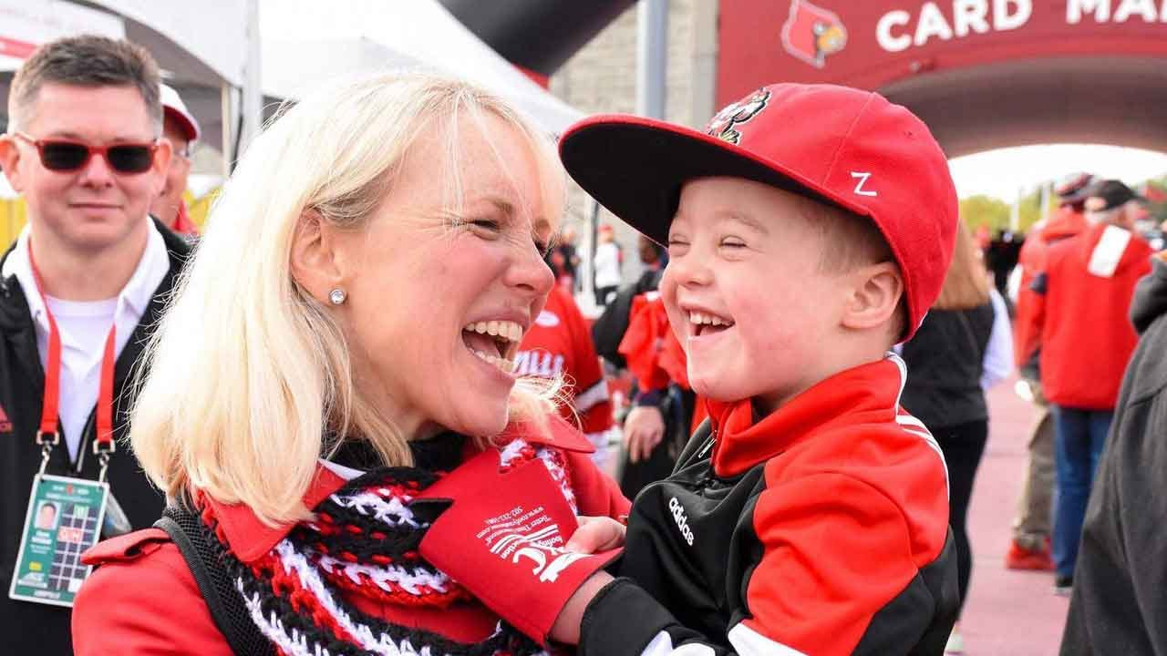 WATCH: 4-Year-Old With Down Syndrome Leads University Of Louisville Band
