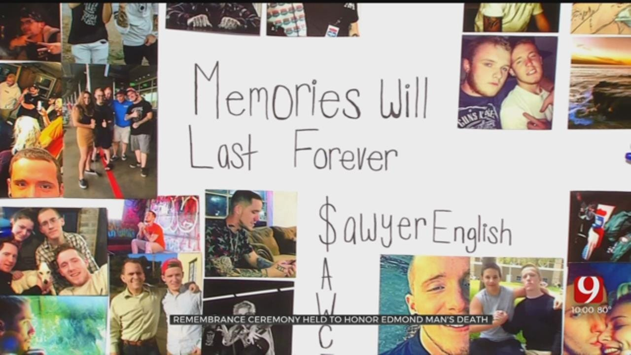 Friends Remember The Life Of Sawyer English At Vigil