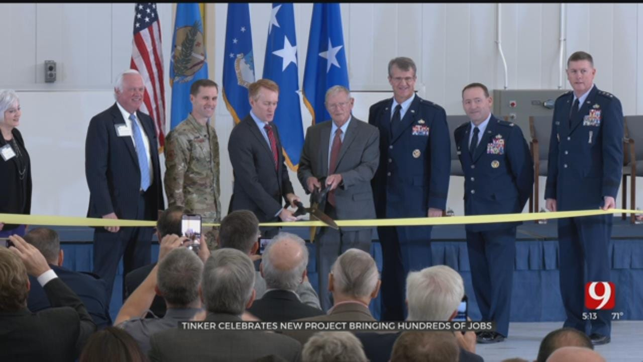 Tinker AFB Celebrates New Project Bringing Over A Thousand Jobs To Oklahoma