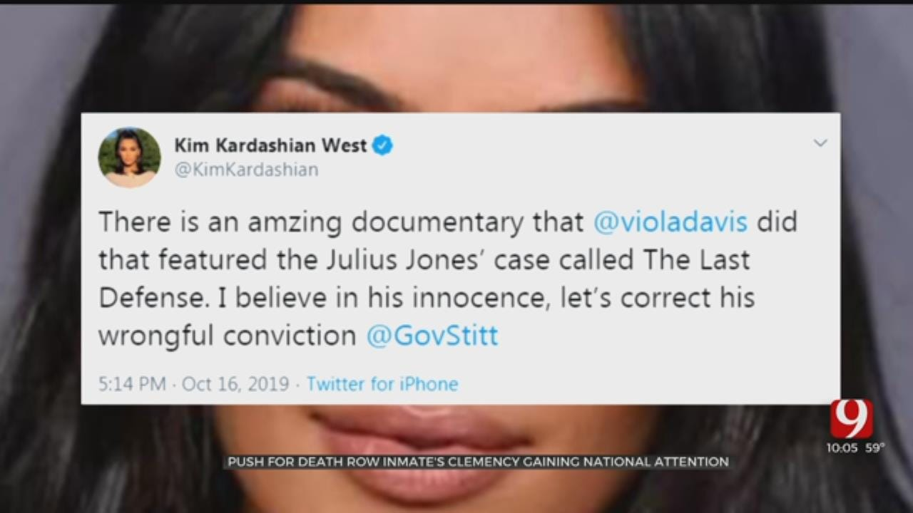 Push For Okla. Death Row Inmate's Clemency Gaining National Attention After Docuseries, Kim Kardashian-West Tweets