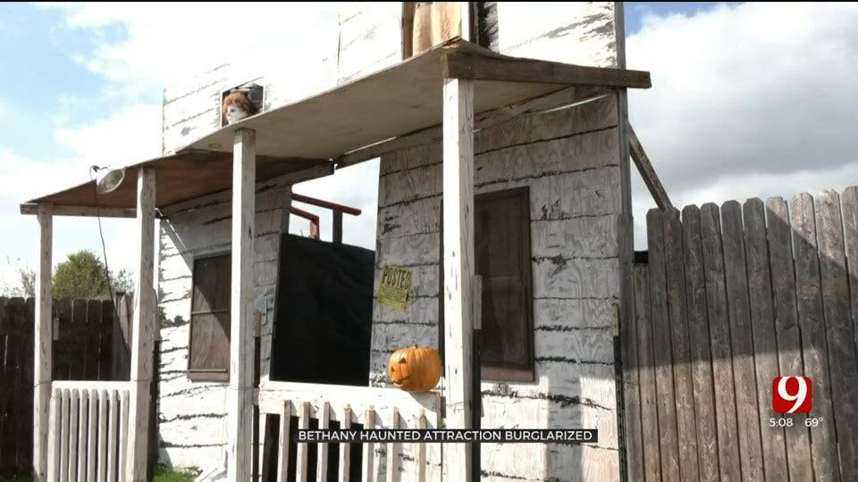 Haunted Attraction Burglarized In Bethany