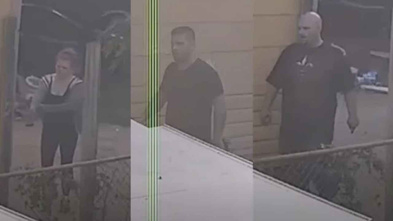 Trio Of Home Burglars Caught On Camera, Car Left Behind At SW OKC Home