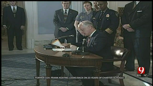 WATCH: Former Gov. Frank Keating Looks Back On 20 Years Of Charter Schools