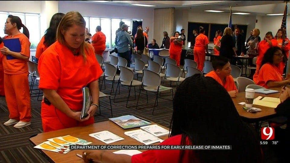 DOC Prepares For Early Release Of Inmates Through Transition Fairs Across The State