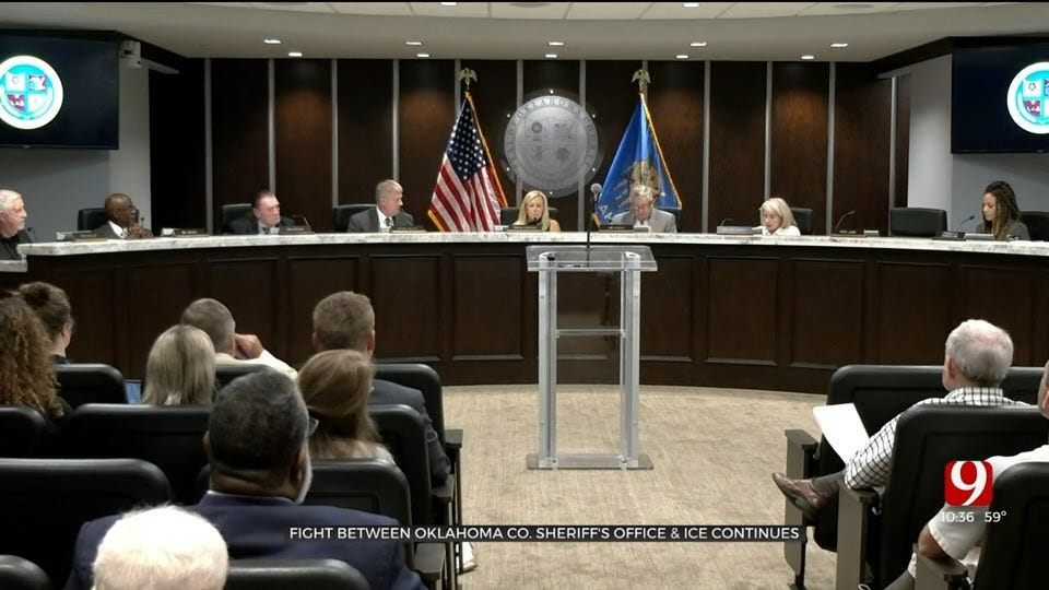 Jail Trust Member Speaks On Dispute Between Oklahoma County Sheriff's Office And ICE