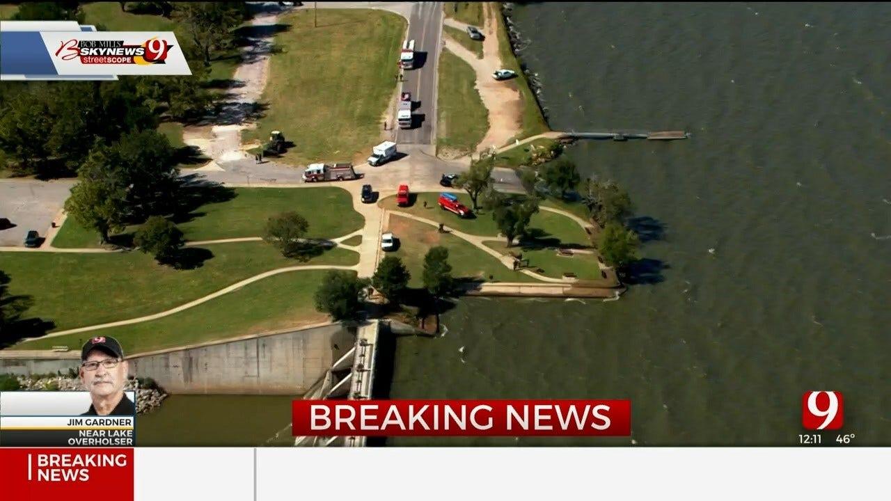 Oklahoma City Fire Investigates Body Found In Lake Overholser