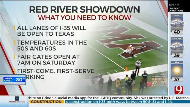 9 Things to Know Ahead of the Red River Showdown