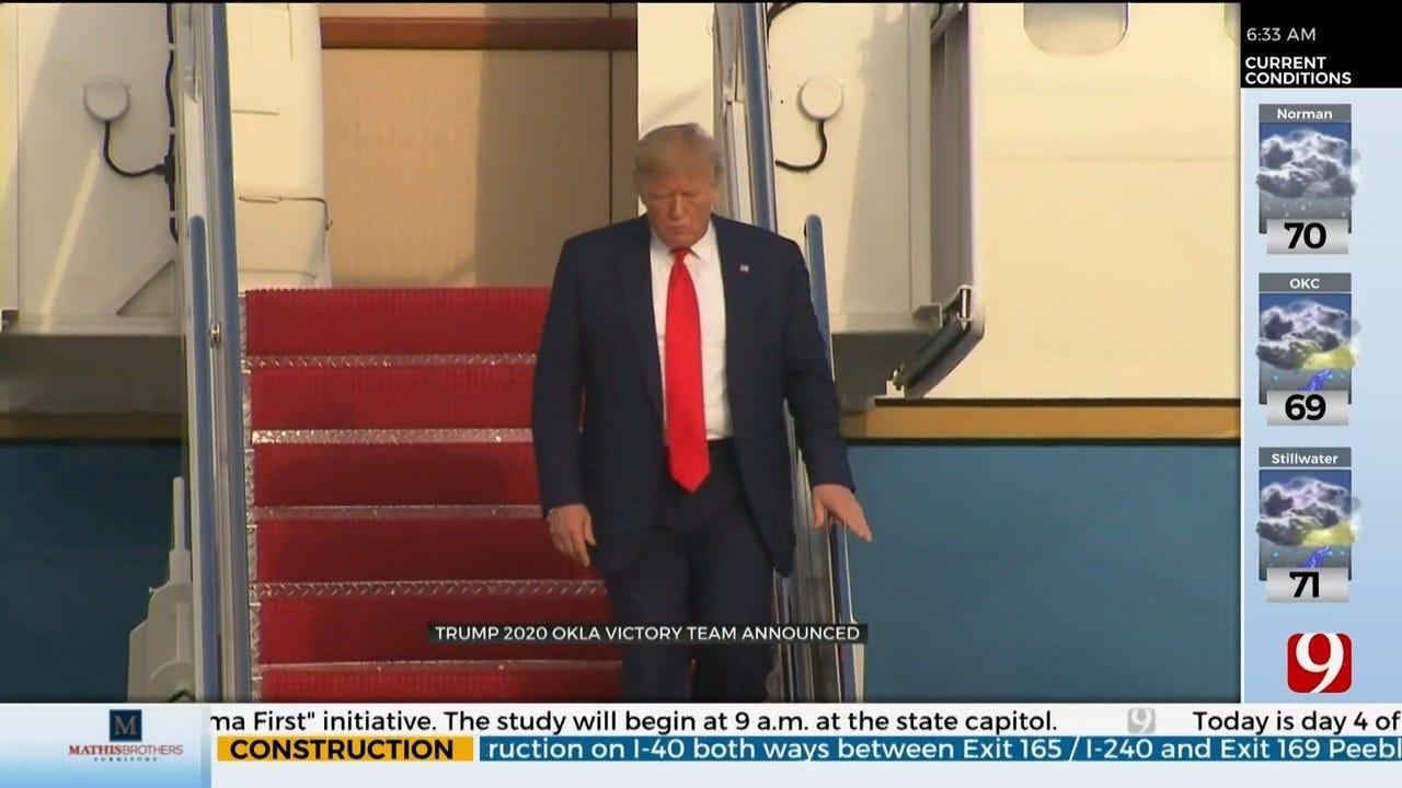 President Trump's 2020 Okla. Victory Team Announced