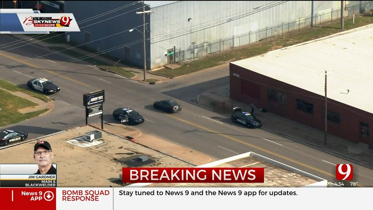 Police Give 'All-Clear' After Report Of Suspicious Bag Near Downtown OKC