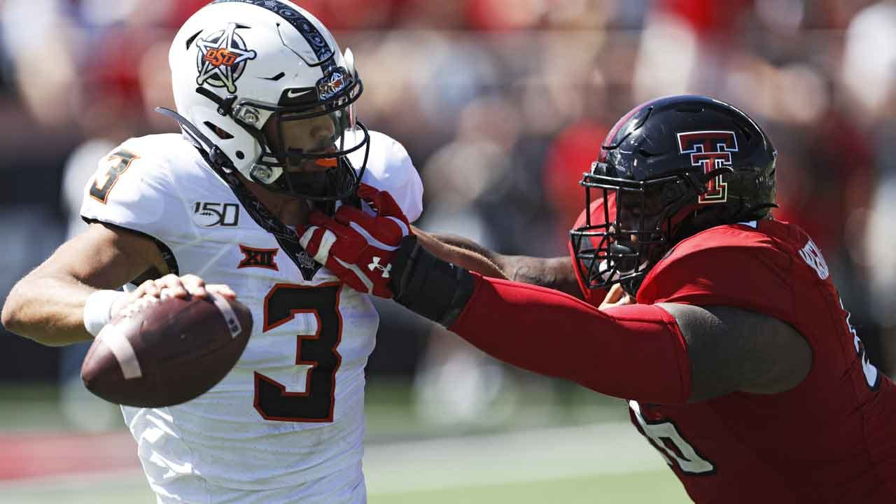 No. 21 Oklahoma State Loses To Texas Tech 45-35