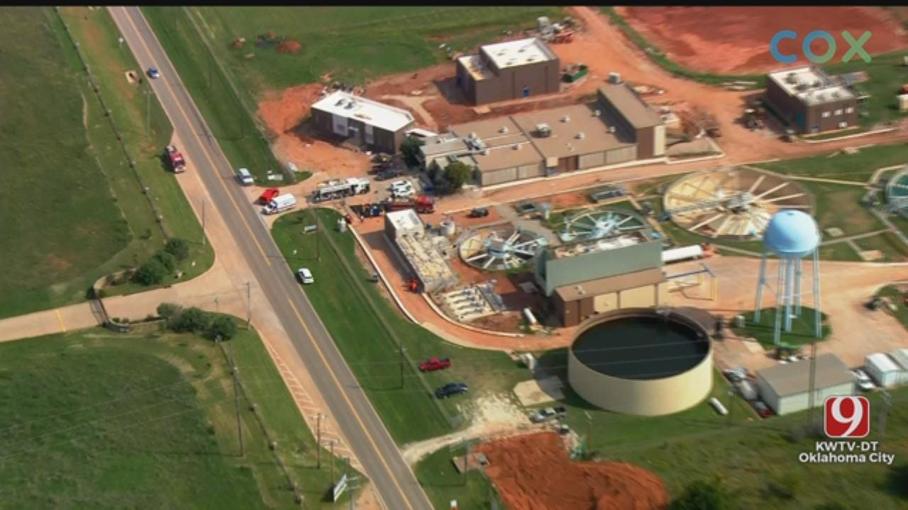 Officials Cap Chlorine Leak At Norman Water Treatment Facility