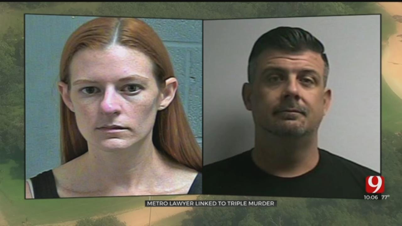 OKC Attorney, Boyfriend Named Suspects In Beggs Triple Homicide