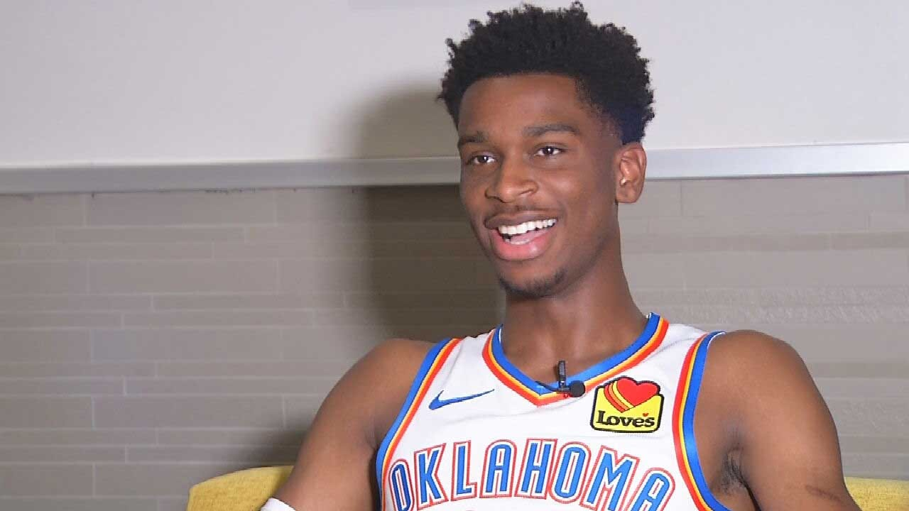 WATCH: Dean One-On-One With OKC Thunder Point Guard Shai Gilgeous-Alexander