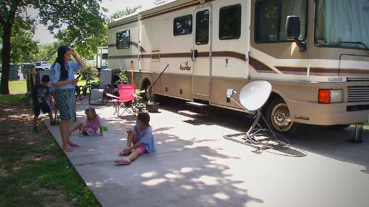 Navy Family Moves Into RV, Files Lawsuit After Mold Exposure At Tinker AFB