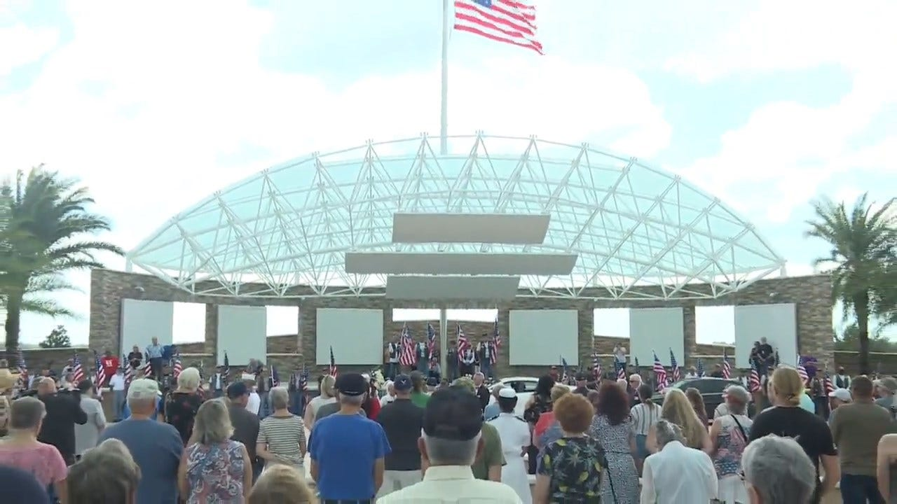 WATCH: People From All Over Turn Out For The Funeral Of Florida Veteran With No Family