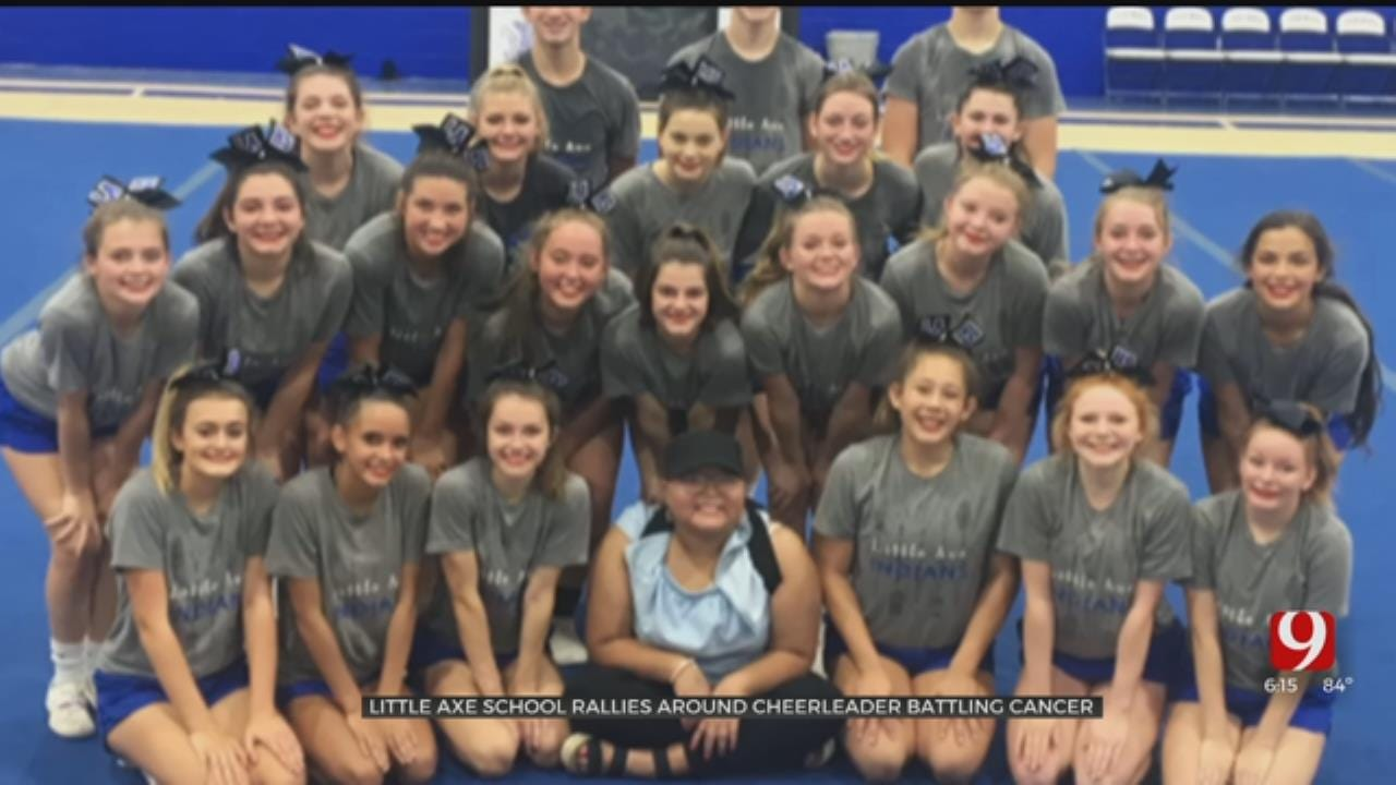 Little Axe Teen Fighting Cancer Inspires Cheer Squad