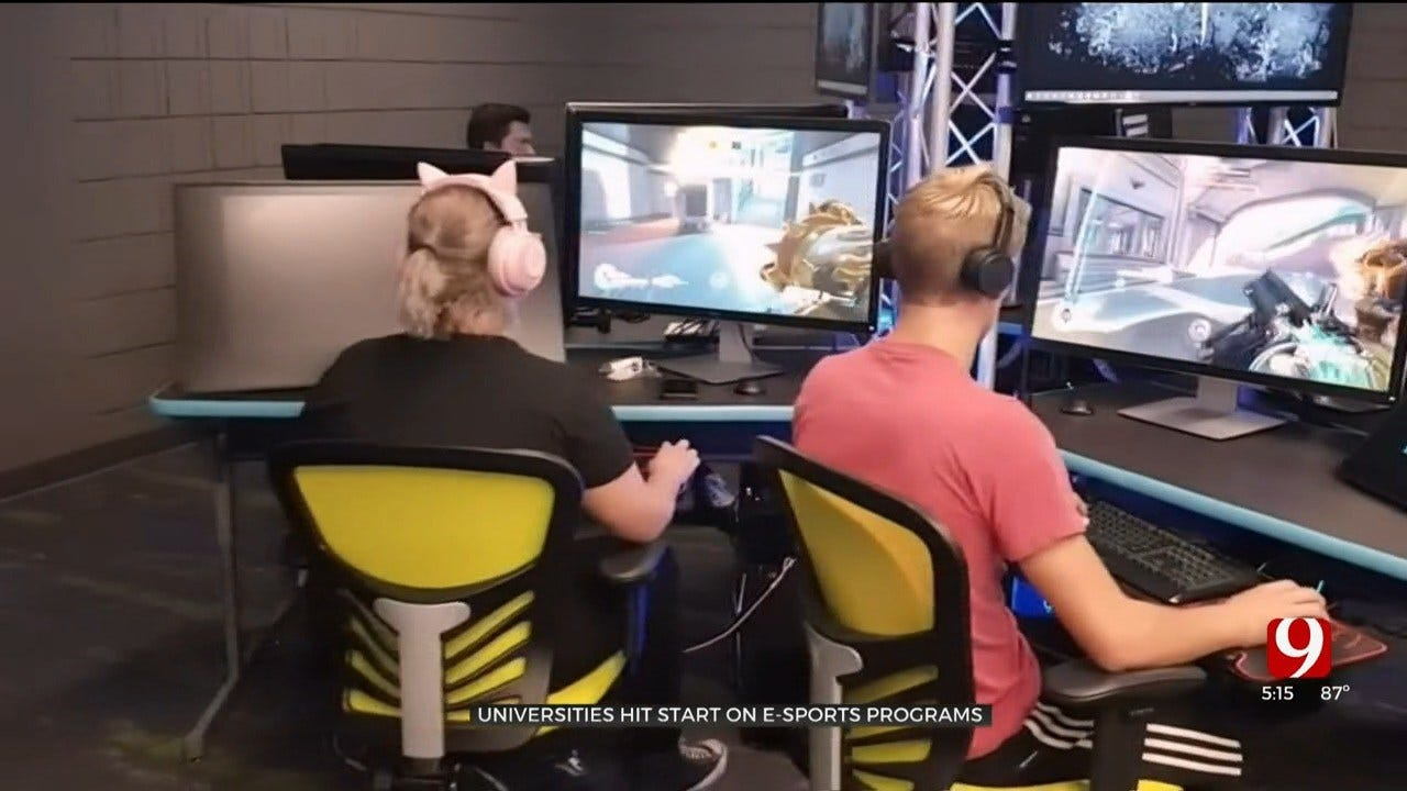 OCU Opens E-Sports Stadium On Campus, Holds First-Ever Team Tryout