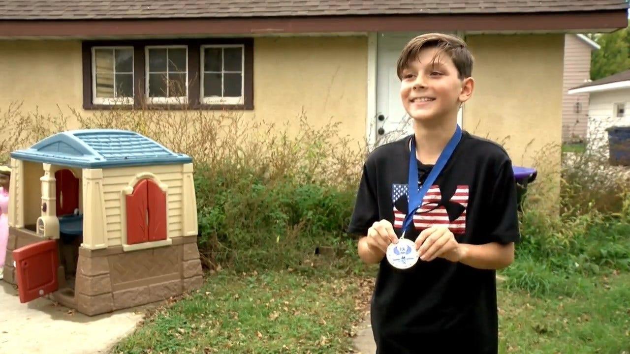 Boy, 9, Takes Wrong Turn On 5K Race, Wins 10K Race Instead