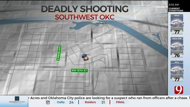 Police Investigating SW Oklahoma City Homicide