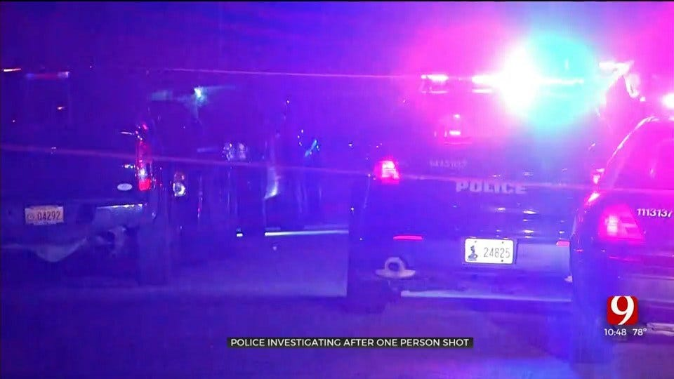 1 Victim Shot In NE OKC