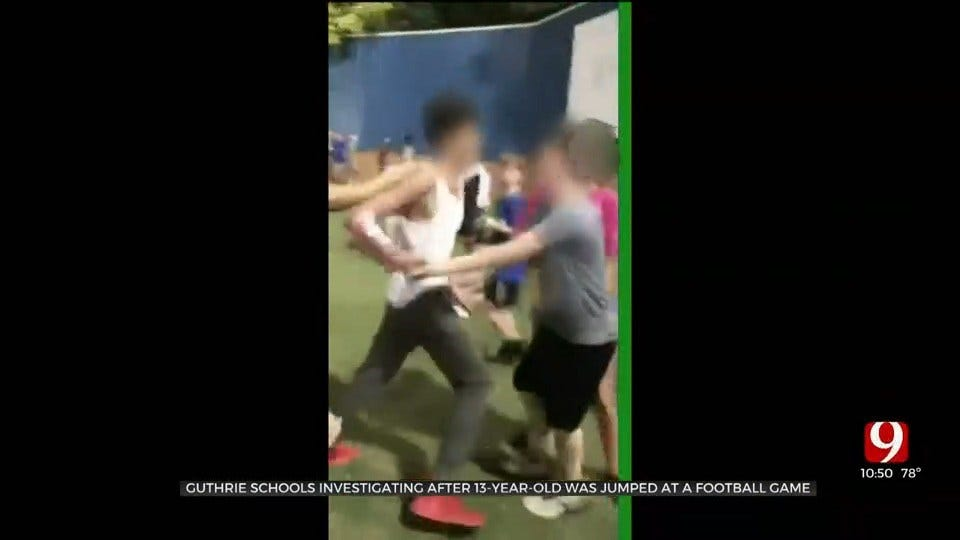 Guthrie Mother Claims 13-Year-Old Son Was Jumped At School Football Game