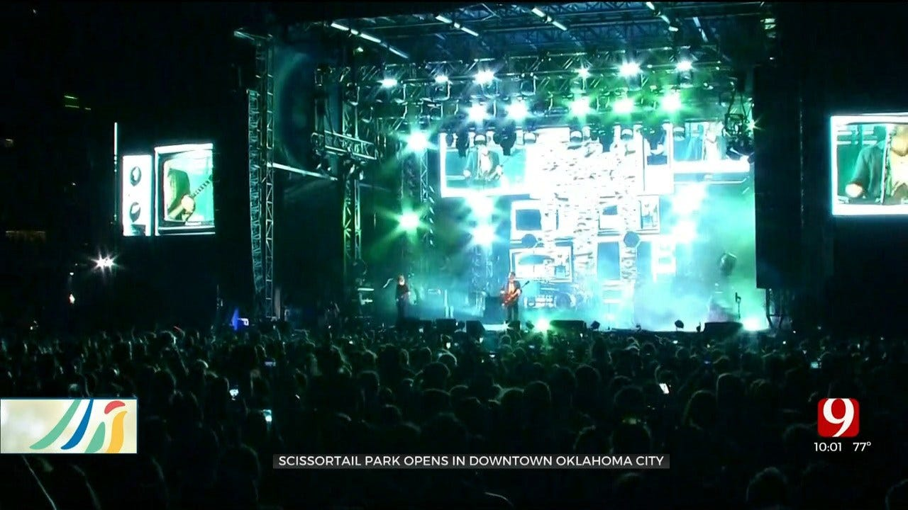 Scissortail Park Opens In Downtown OKC