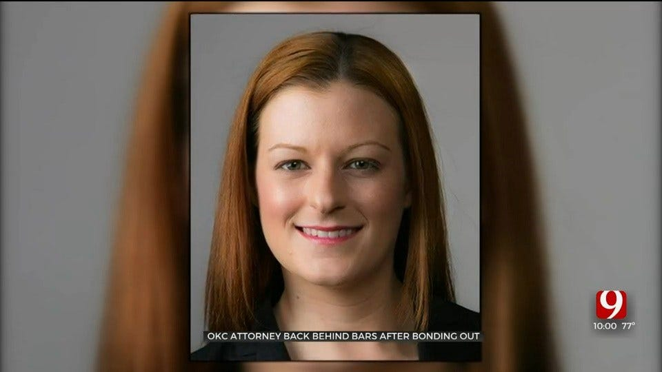OKC Attorney Arrested For 2nd Time After Bonding Out Of Jail