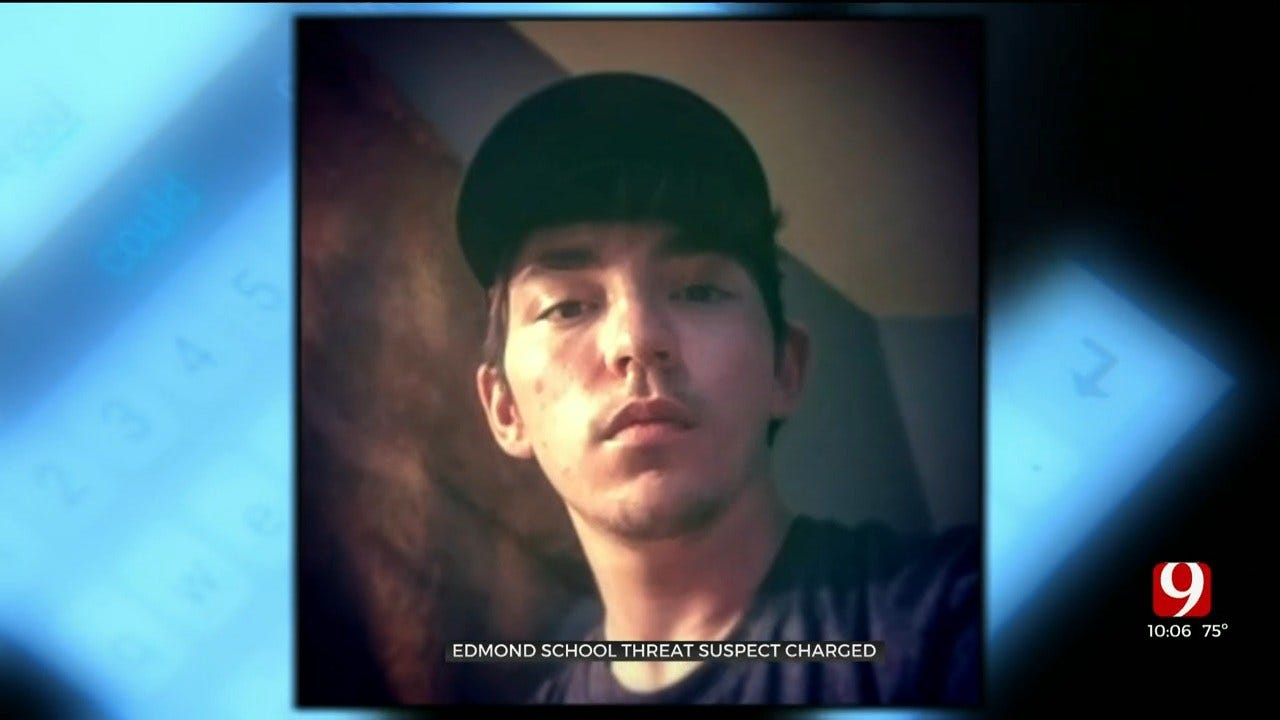 Edmond High School Student Charged With Committing A Terroristic Hoax After Shooting Threat