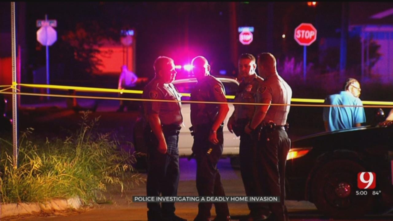 Man Killed, Relative Injured In NE OKC Home Invasion; Police Asking For Tips On Suspects