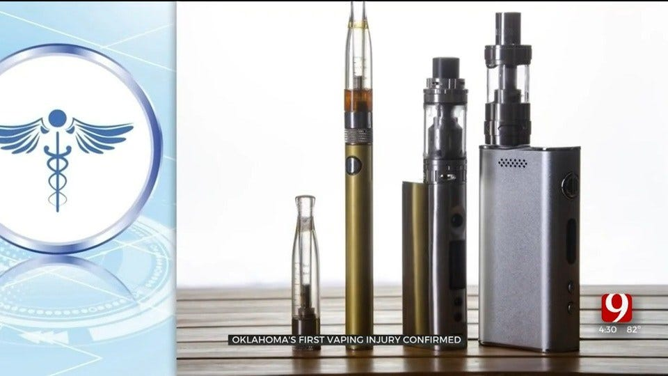 1st Vaping-Associated Lung Injury Case In Oklahoma Confirmed