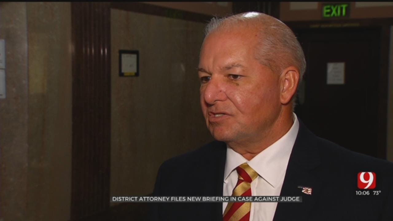 DA Files Briefing In Case Against Oklahoma Co. Judge Accused Of Failing To File Tax Returns