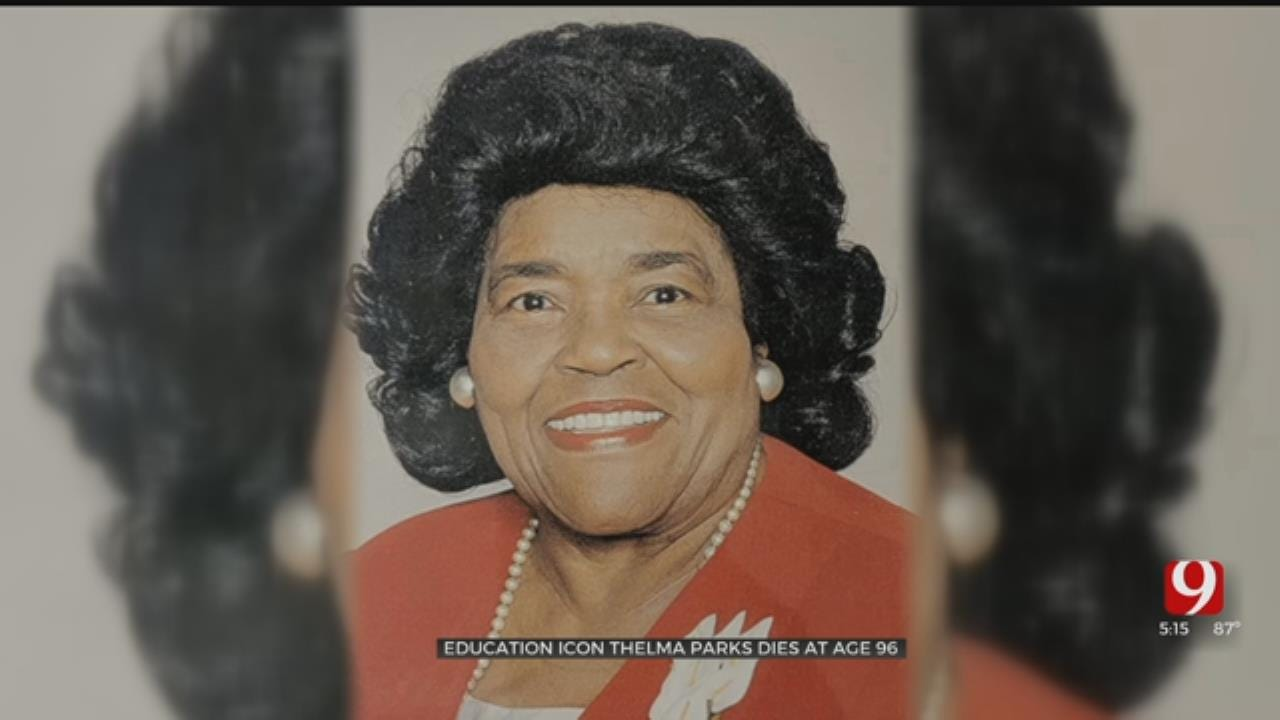 Iconic Oklahoma City Education Leader Thelma Parks Dies At Age 96