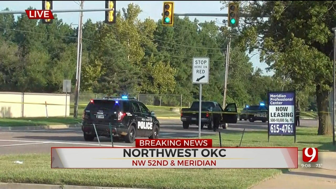 1 Dead After Being Hit By Car In NW OKC, Police Said