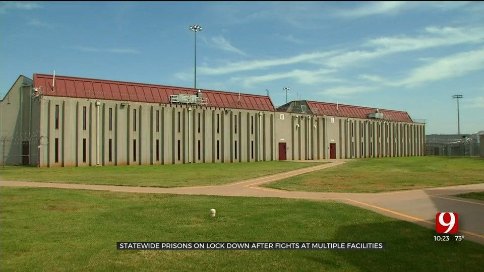 ODOC: 1 Inmate Dead, Prisons Locked Down Statewide Due To Several Inmate Fights
