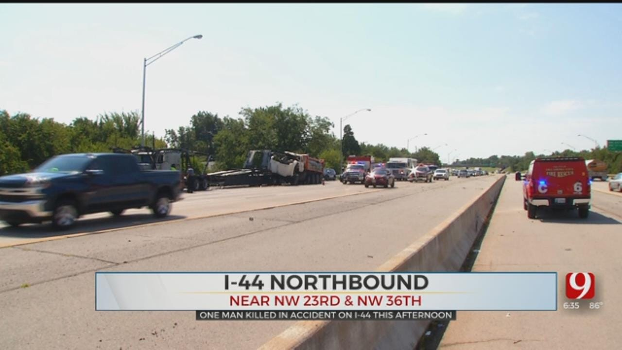 OHP: Victim Identified In Deadly Crash Involving Multiple Vehicles On I-44