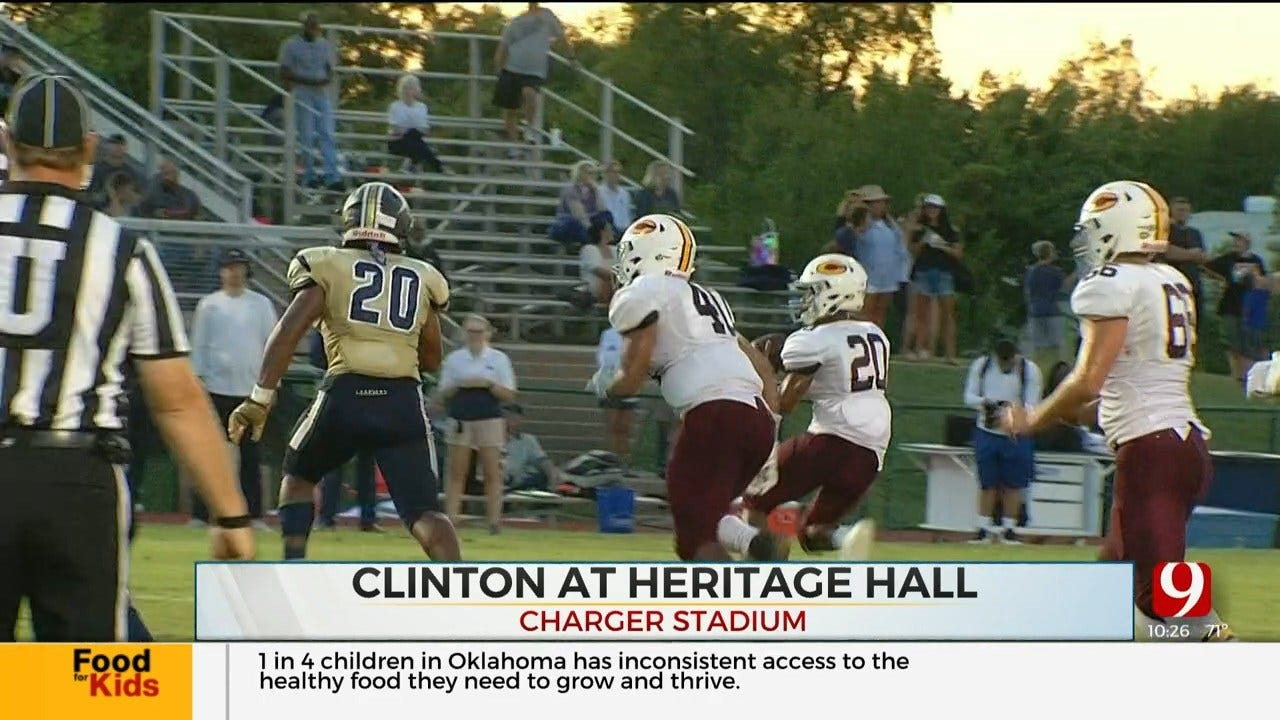 High School Football Roundup: Clinton Vs. Heritage Hall