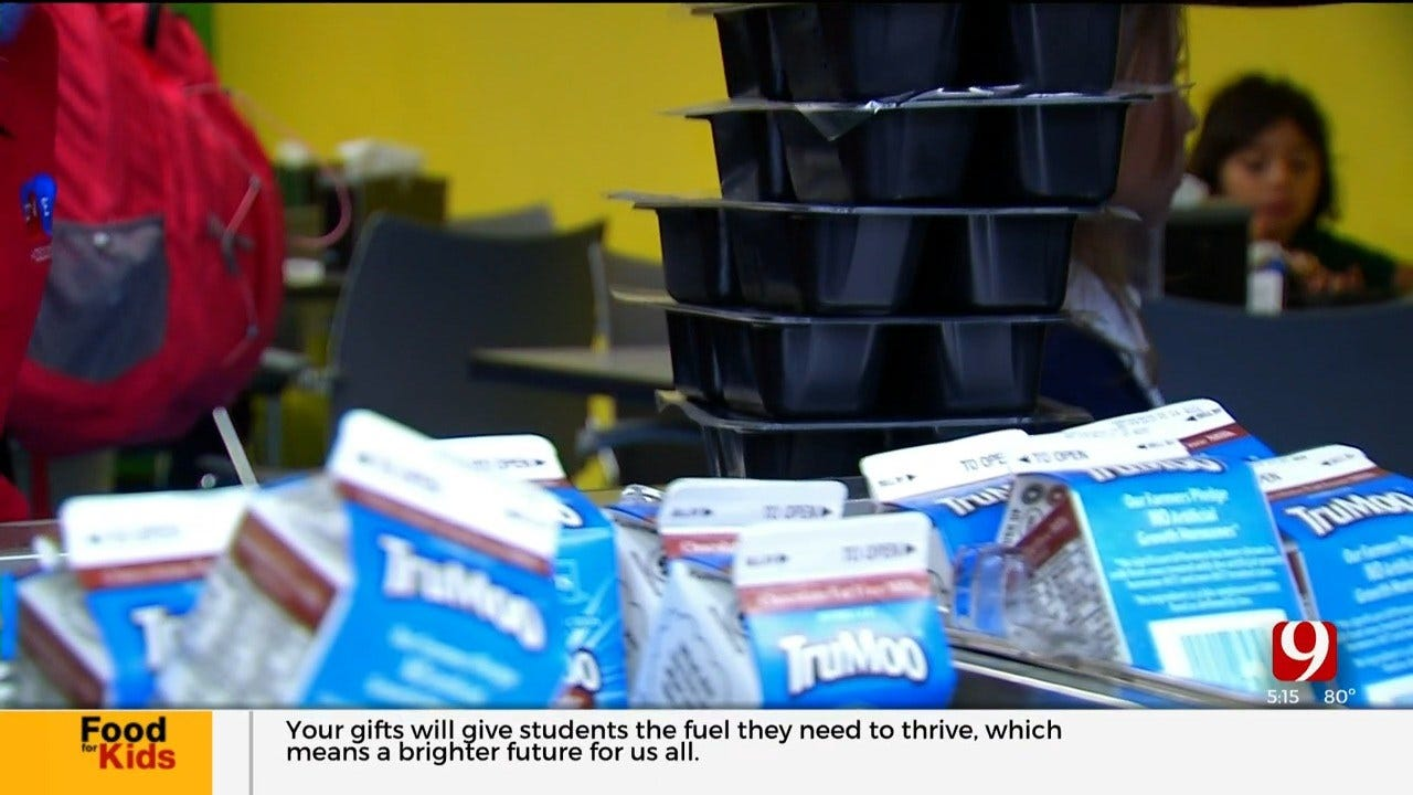 Kids Cafe Helps Feed Hungry Kids After School