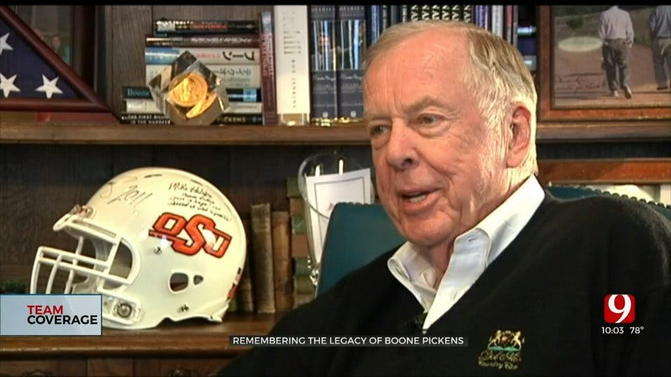Stillwater Community Honors The Life Of Boone Pickens