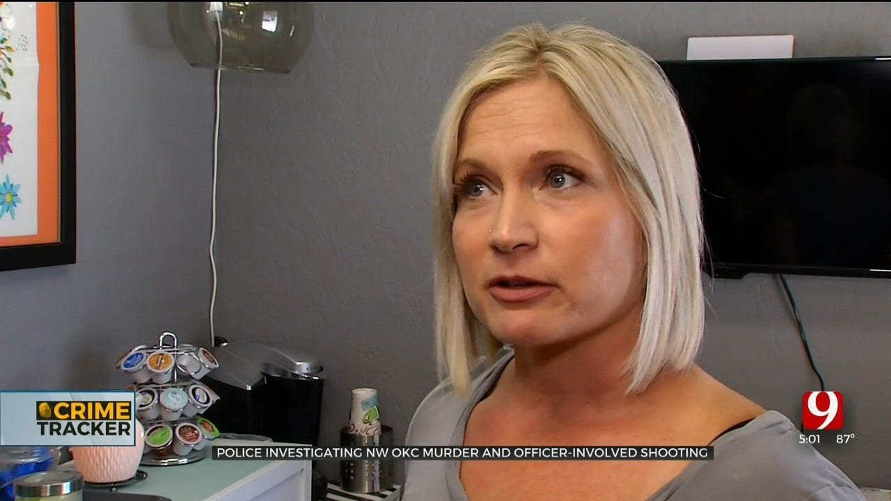 Business Owner Recalls Aftermath Of Crime Scene Following Fatal Officer-Involved Shooting In NW OKC