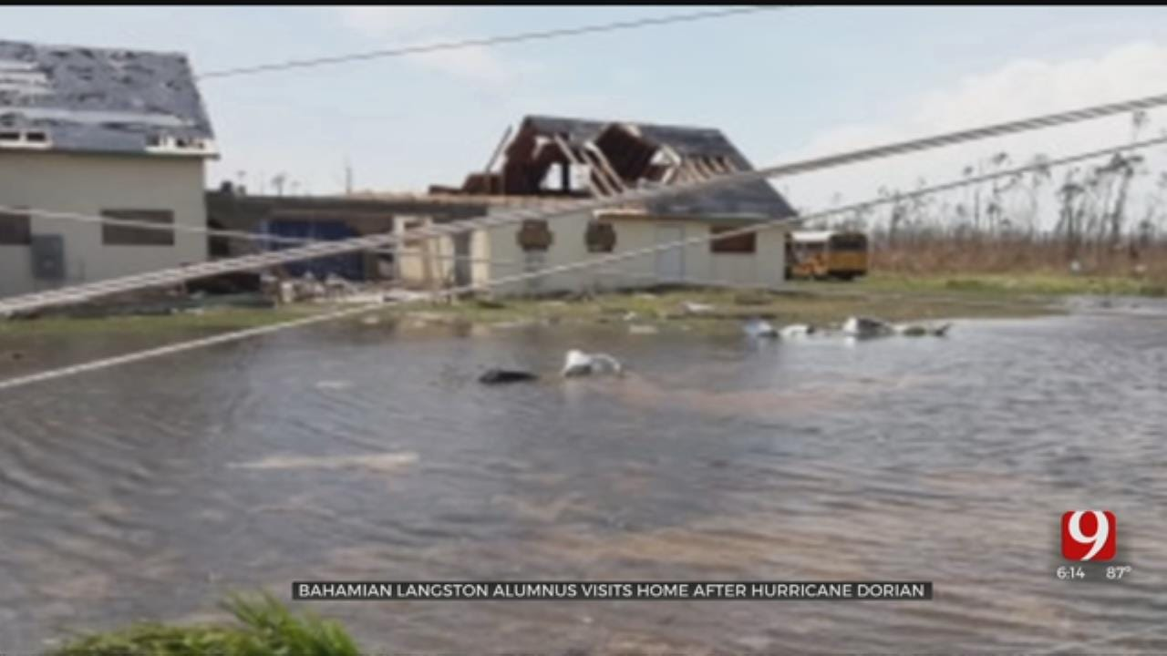 Langston Graduate Recounts Hurricane That Destroyed Family Home In Bahamas