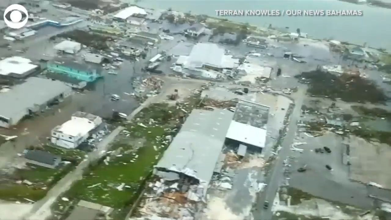 WATCH: Aerial Footage Of Hurricane Dorian Damage In The Bahamas