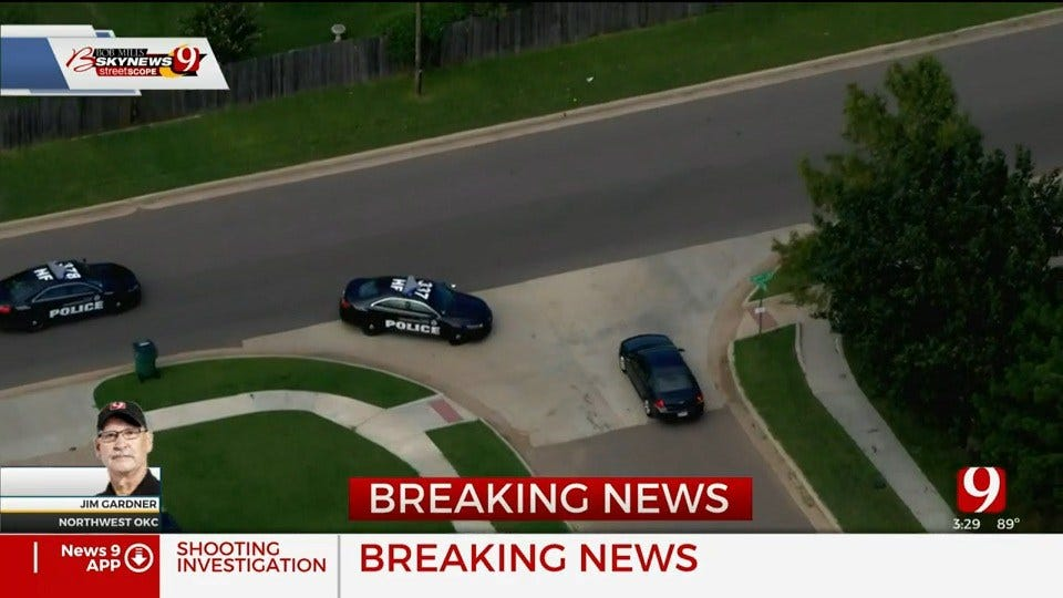 WATCH: Police Pursuit Of Alleged Shooting Suspect In NW OKC