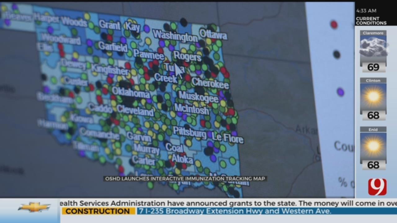 OSHD Launches Interactive Immunizastion Tracking Map