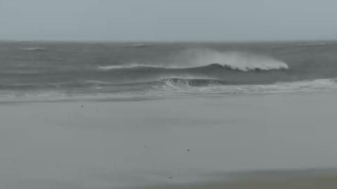 Reinvigorated Dorian Lashing North & South Carolina Coasts