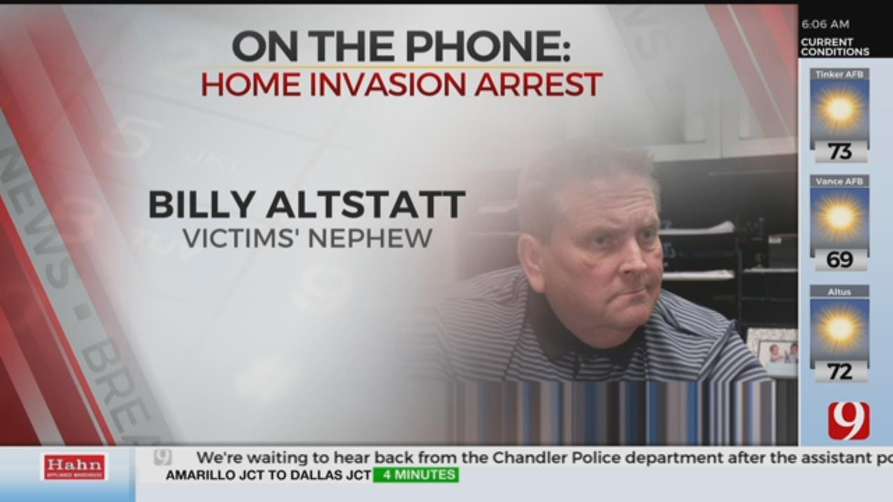 Family Reacts To Tuttle Home Invasion Arrest