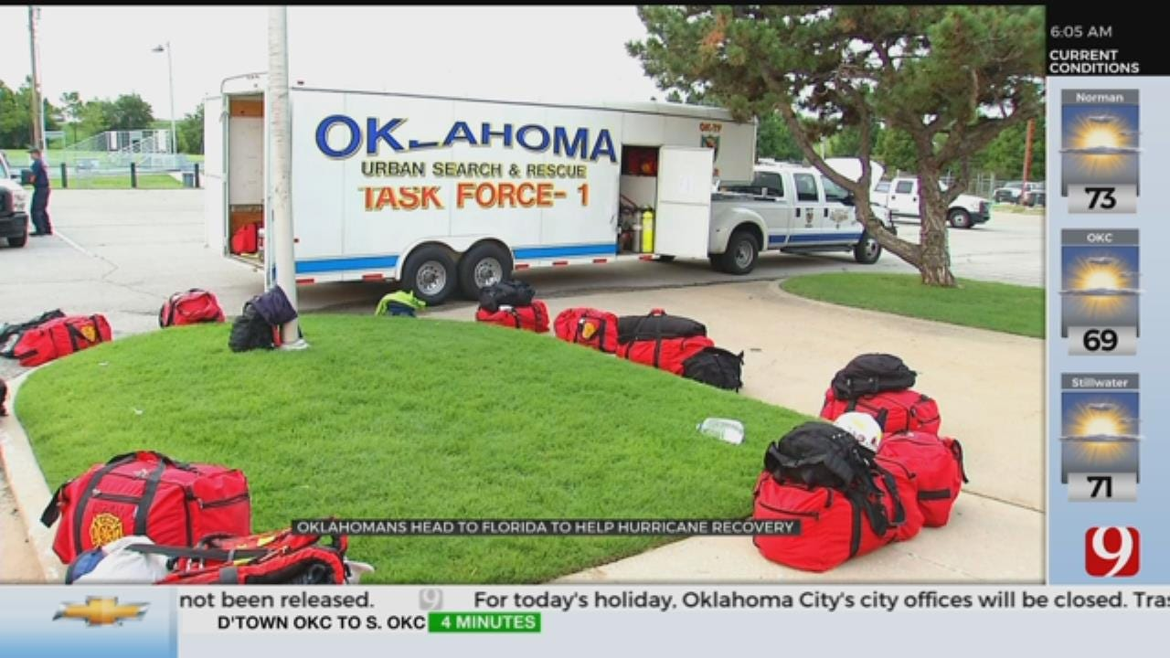 Oklahomans Head To Florida To Help With Hurricane Recovery