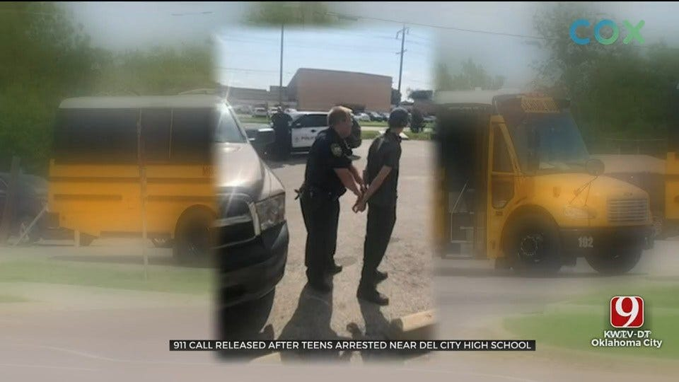 911 Call Released After 3 Arrested Near Del City High School