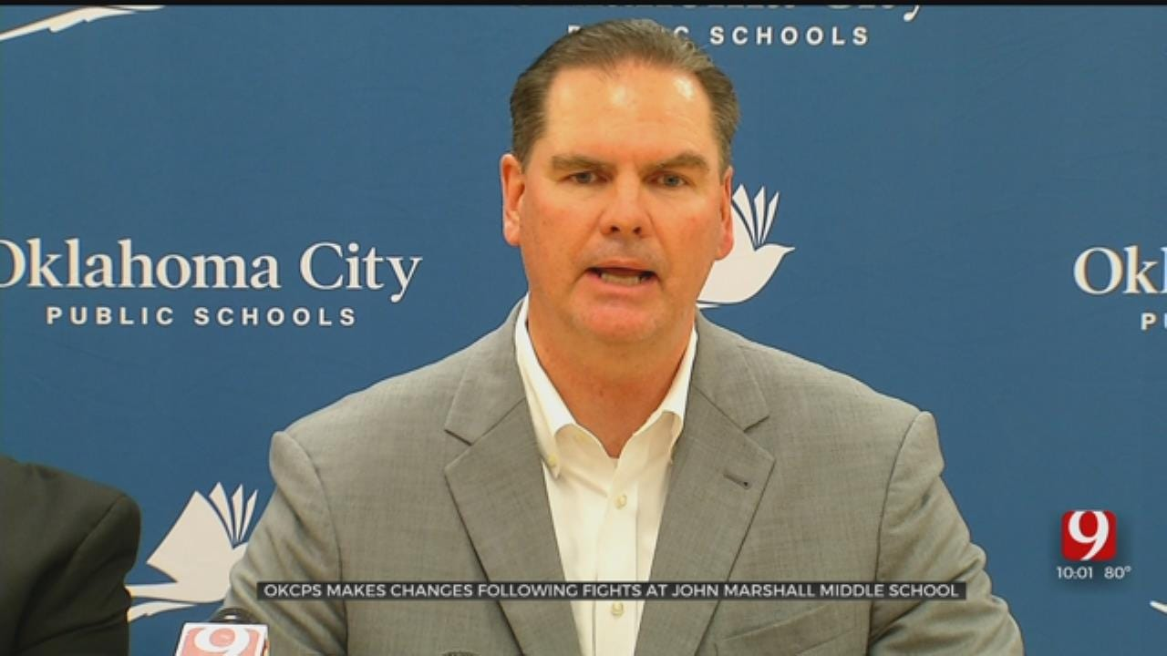 OKCPS Announces Changes Following Fights At John Marshall Middle School