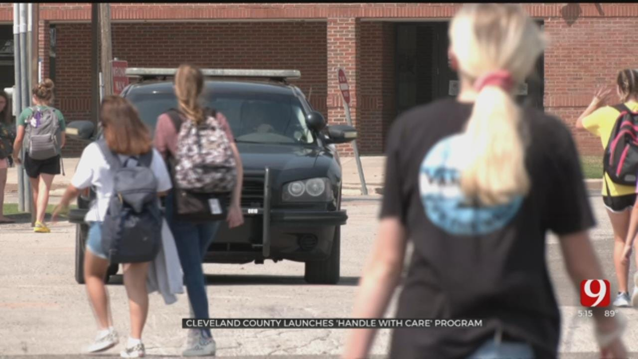 Cleveland County Sheriff Launches 'Handle With Care' Program With Schools