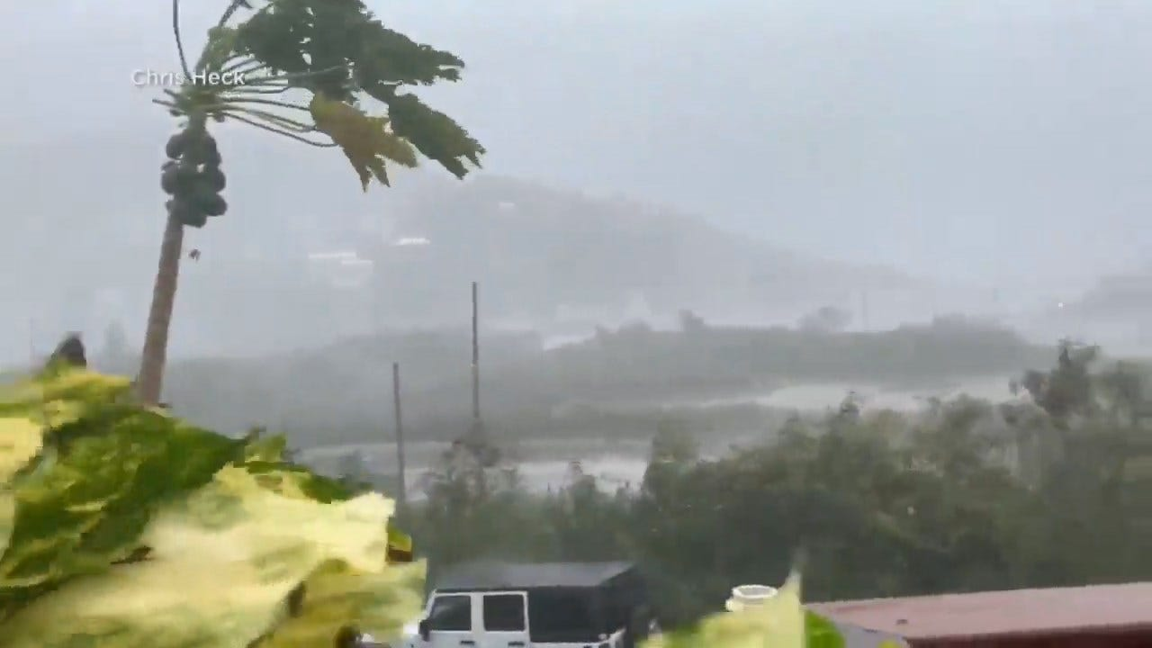 Hurricane On Track For Florida After Strike In Caribbean